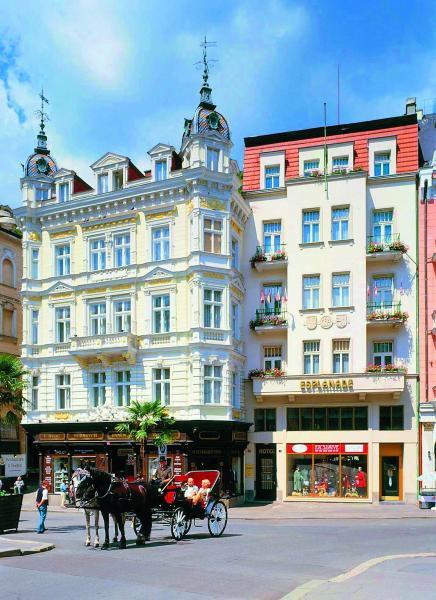Отель Mozart 3 Карловы Вары Чехия отзывы описание фото